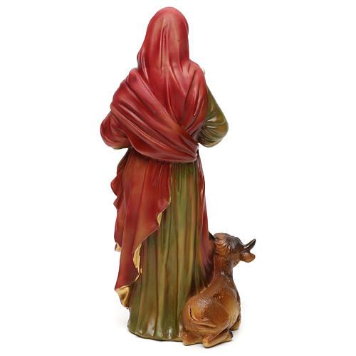 San Luca Evangelista 30 cm statua in resina 5