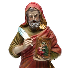 Saint Lucke the Evangelist 30 cm resin statue s2