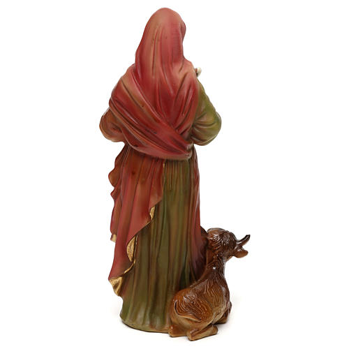 St. Luke the Evangelist statue in resin 20 cm 5