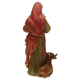 Statue en résine 20 cm Saint Luc Évangéliste s5