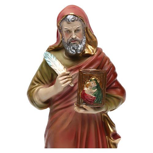 Statue en résine 20 cm Saint Luc Évangéliste 2
