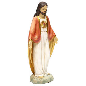 Holy Heart of Jesus 30 cm resin statue s4