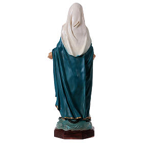 Immaculate Mary statue in resin 30 cm s5