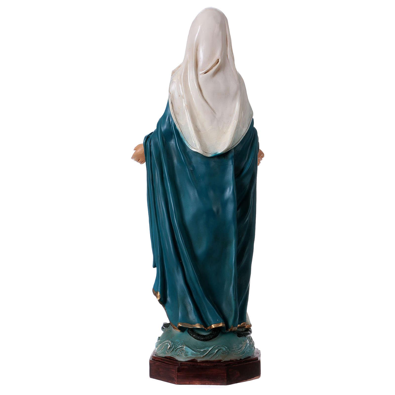 Virgen Inmaculada 30 cm estatua de resina 4