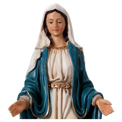 Virgen Inmaculada 30 cm estatua de resina 2