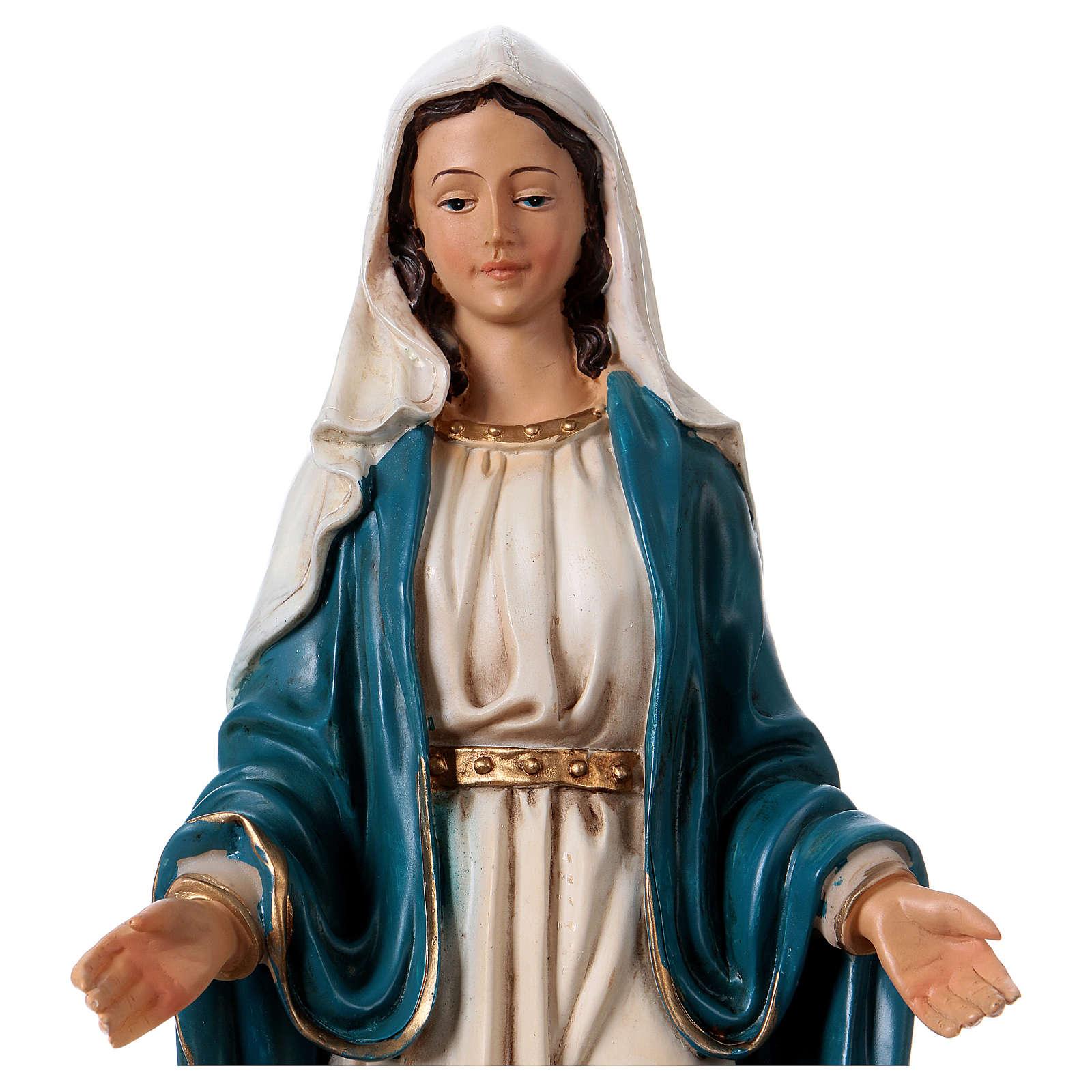 Vierge Immaculée 30 cm statue en résine 4