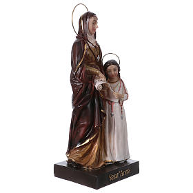 Sainte Anne et Marie 20 cm statue en résine s3