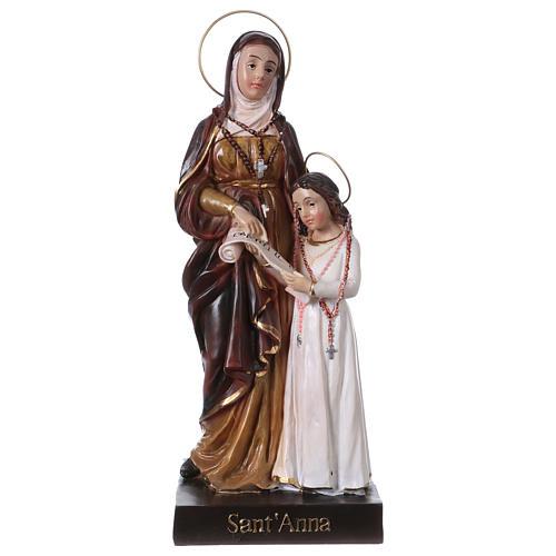 Sainte Anne et Marie 20 cm statue en résine 1
