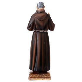 Padre Pio statue in resin 22 cm s4