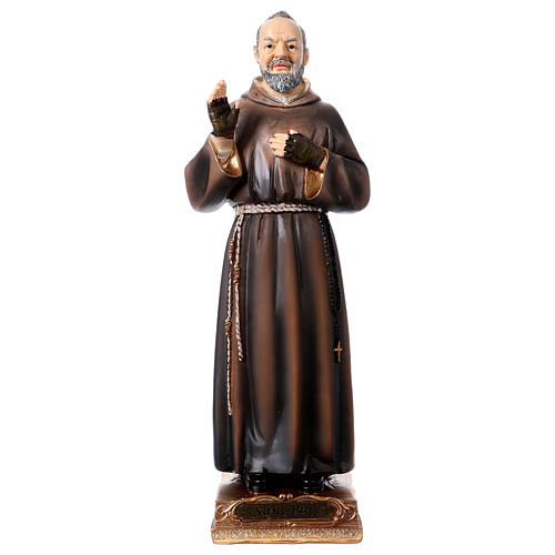 Padre Pio statue in resin 22 cm 1