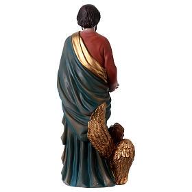 Saint Matthieu Évangéliste 30 cm statue en résine s5