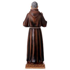 Statue en résine Saint Pio 43 cm s5