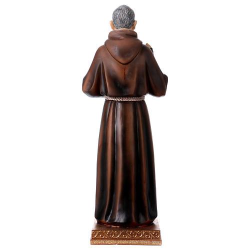 Statue en résine Saint Pio 43 cm 5