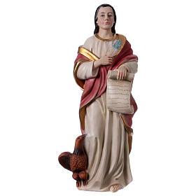 St. John the Evangelist statue in resin 30 cm s1