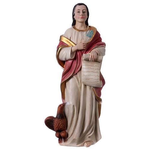 St. John the Evangelist statue in resin 30 cm 1