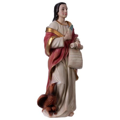 St. John the Evangelist statue in resin 30 cm 4