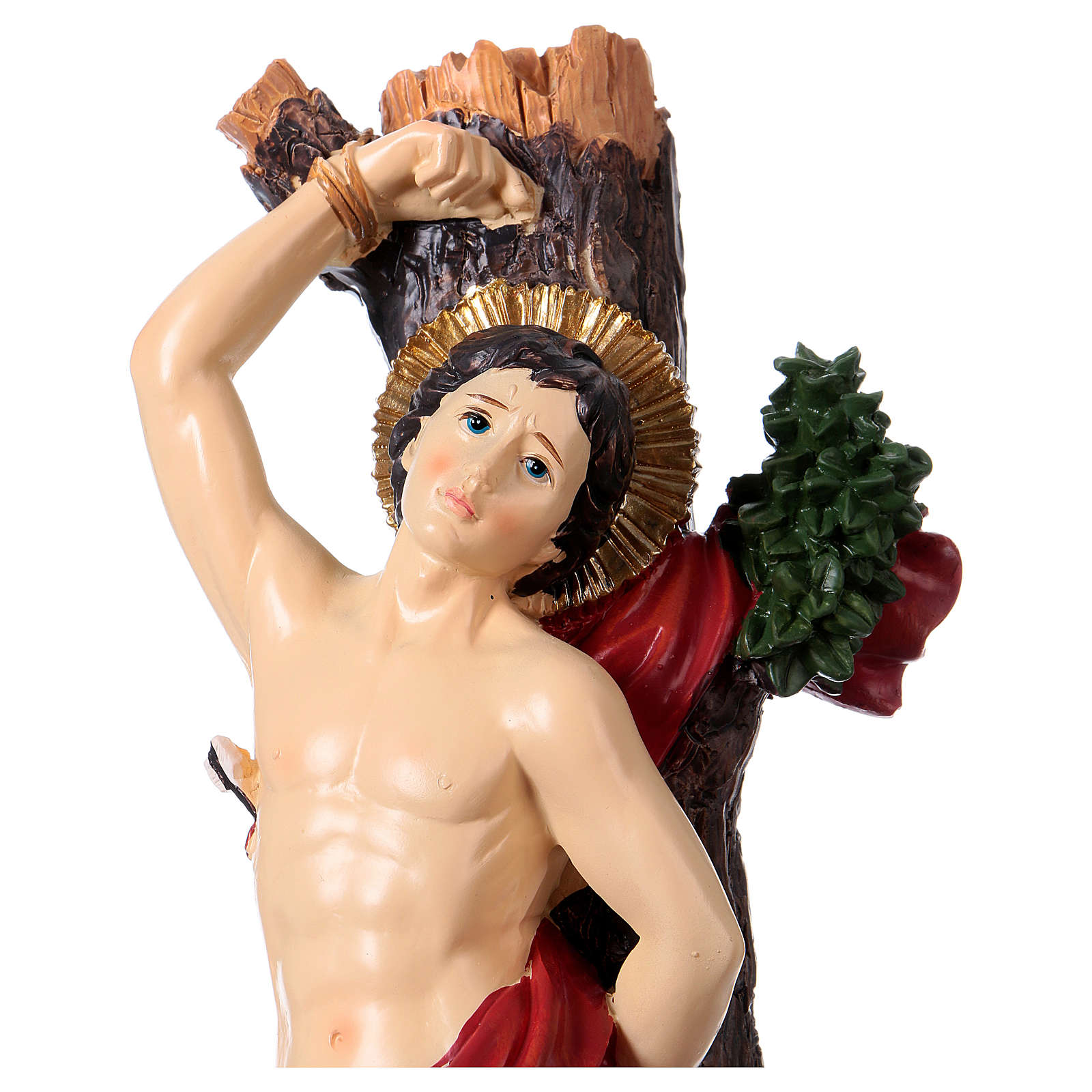 Saint Sebastian 30 cm resin statue 4