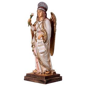 Archangel Gabriel statue in resin 30 cm s3