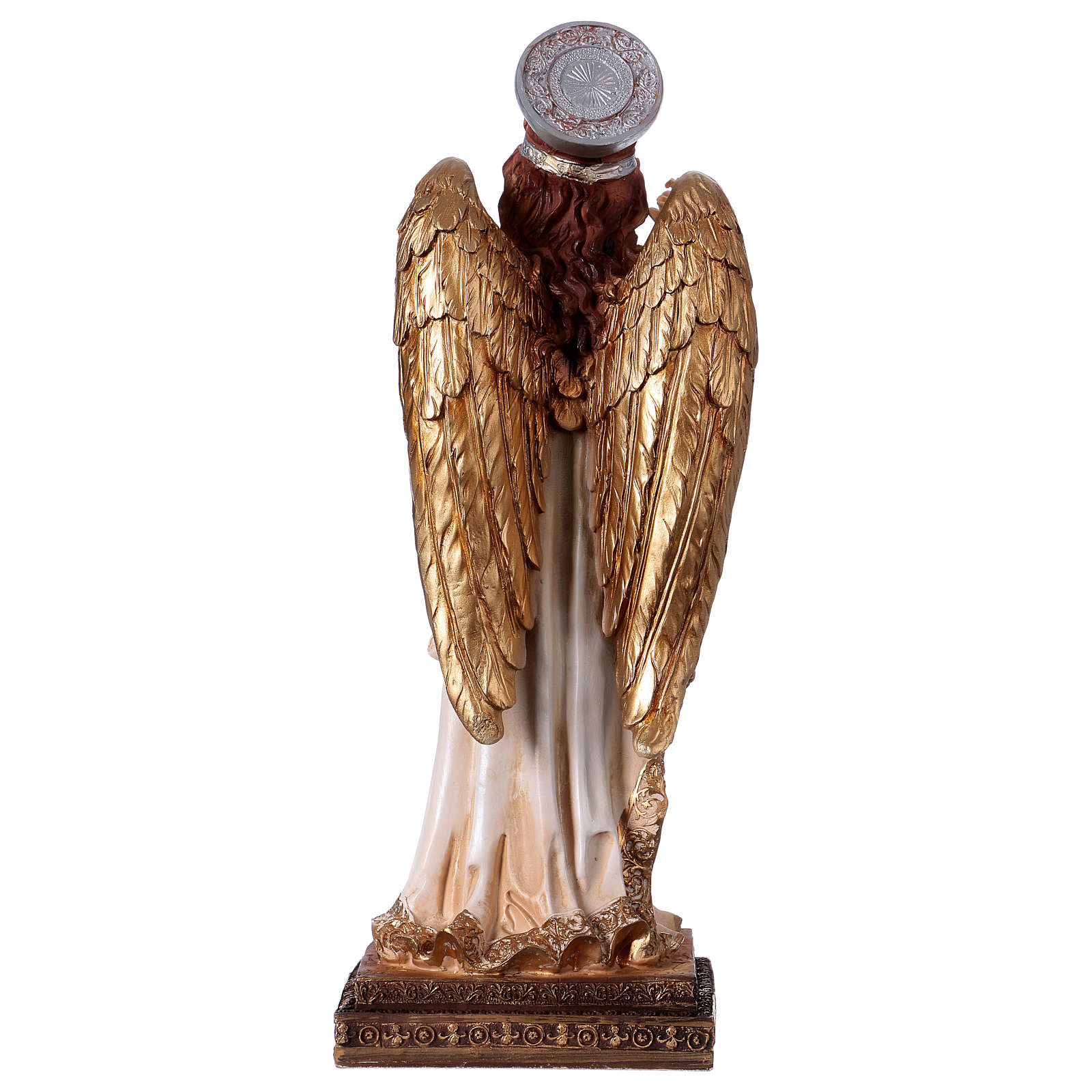 Arcángel Gabriel 30 cm estatua de resina 4