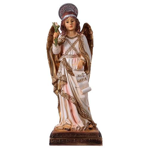 Arcángel Gabriel 30 cm estatua de resina 1