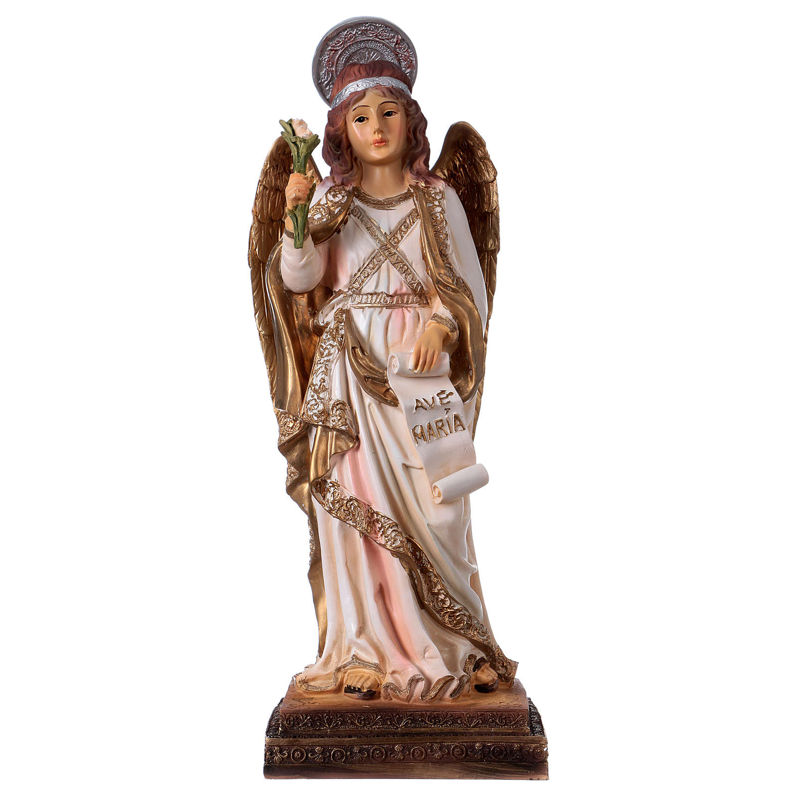 Gabriel the Archangel 30 cm resin statue 4