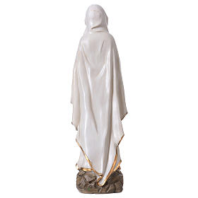 Our Lady of Lourdes statue in resin 30 cm s5