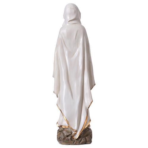 Virgen de Lourdes 30 cm estatua resina 5