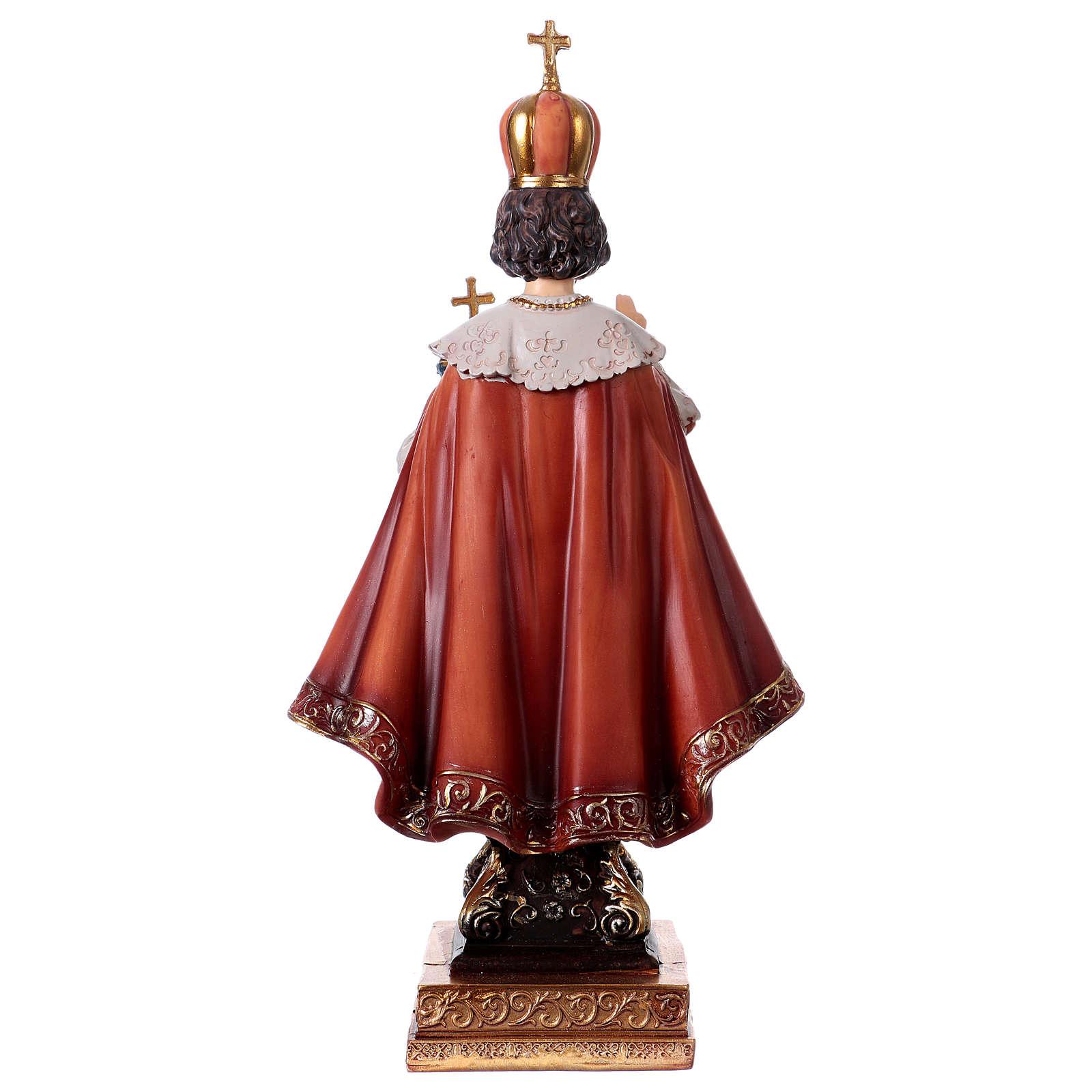 Enfant Jésus de Prague statue 22 cm résine 4