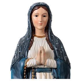 Madonna Scoglio 30 cm statua in resina s2
