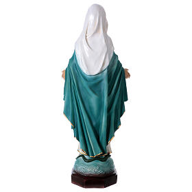 Immaculate Mary statue in resin 67 cm s5