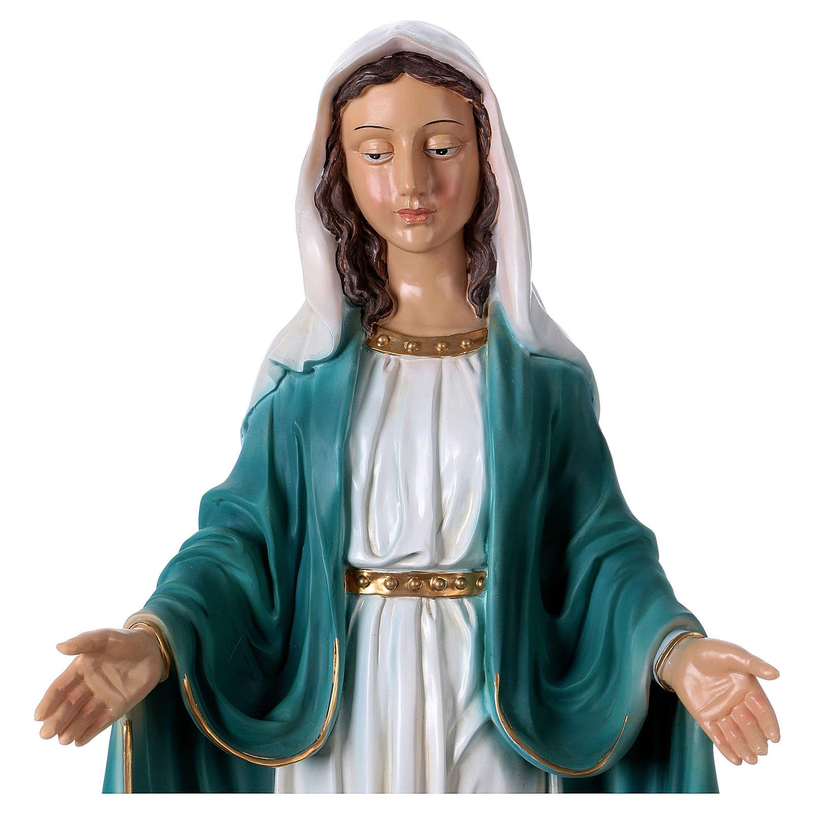 Immaculée Conception 67 cm statue résine 4