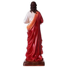 Sacro Cuore di Gesù 30 cm resina  s5