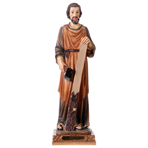 San Giuseppe Falegname 33 cm resina 1