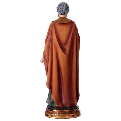 St. Peter statue in resin 30 cm 5