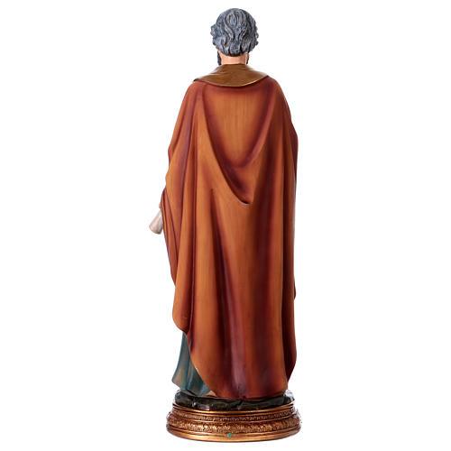 San Pietro resina 30 cm statua 5