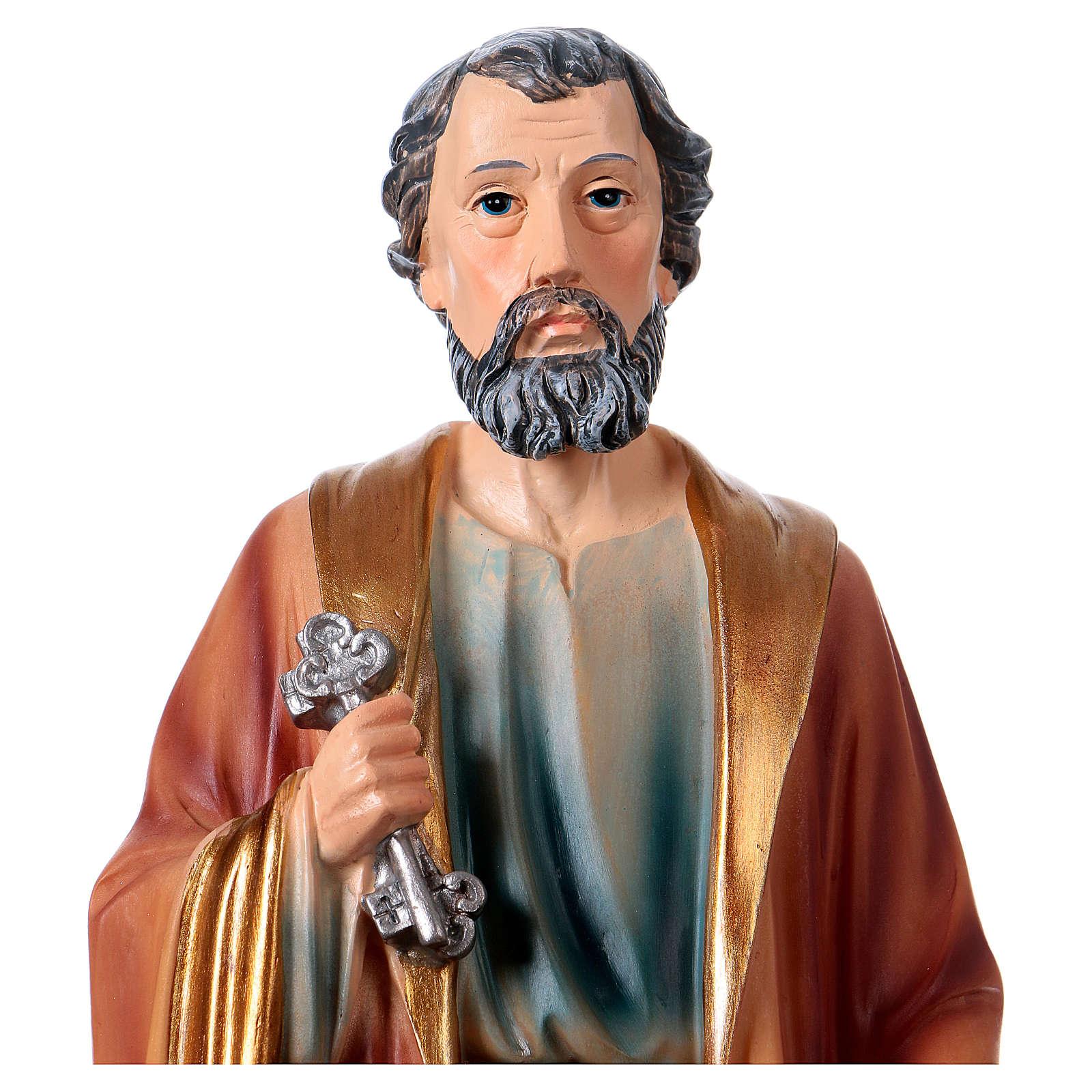 Saint Peter Resin Statue, 30 cm 4