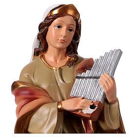 St. Cecilia statue in resin 30 cm s2