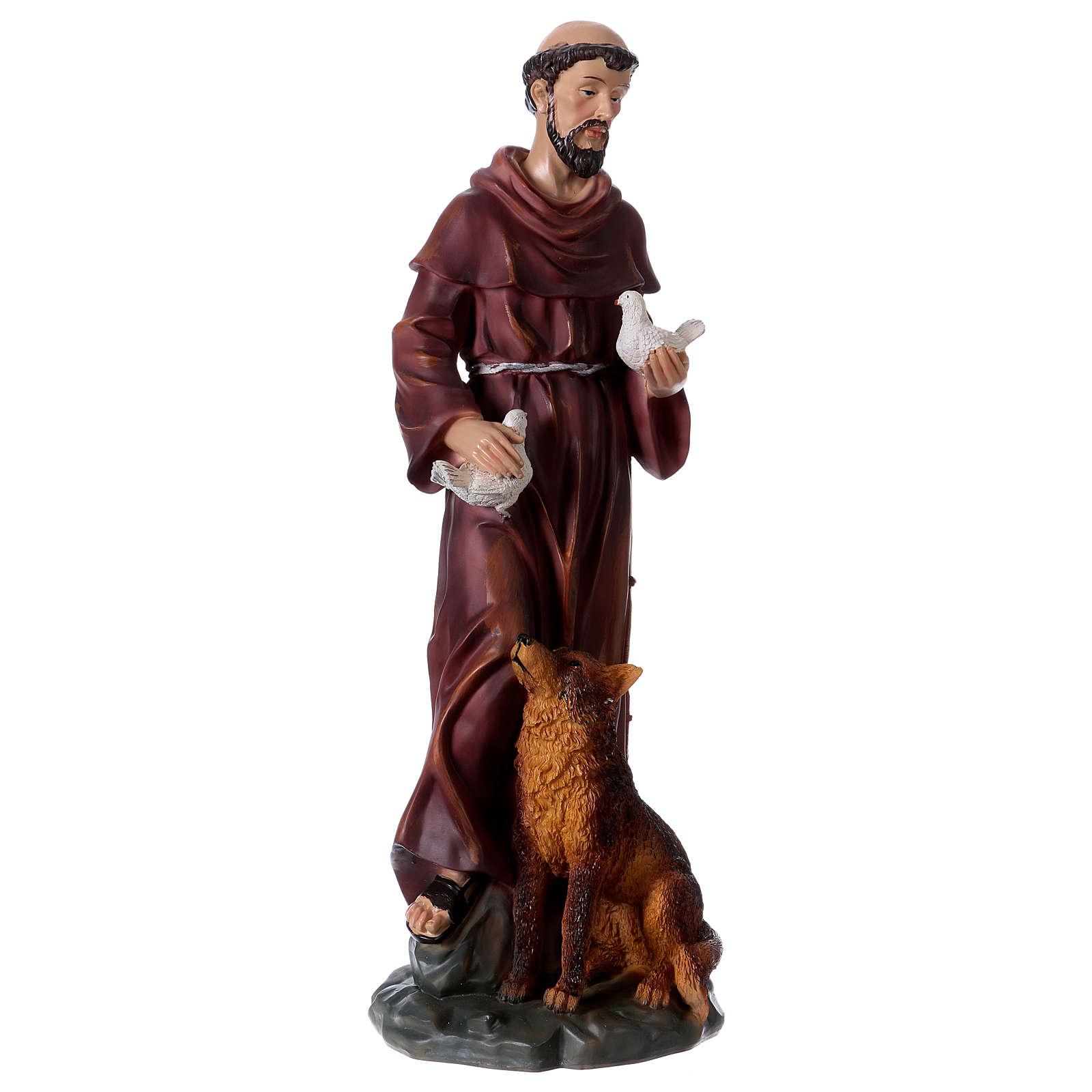 Santa Rita 50 cm statua in resina 4