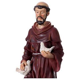 Santa Rita 50 cm statua in resina s7