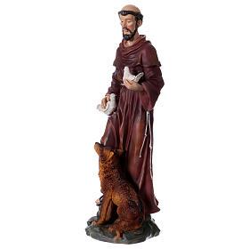 Santa Rita 50 cm statua in resina s8