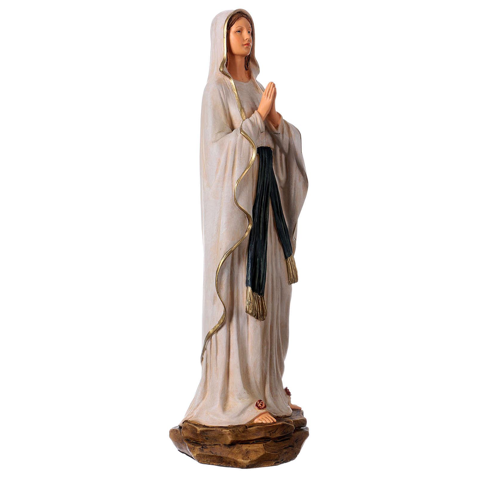 Figura z żywicy Madonna z Lourdes 36 cm 4