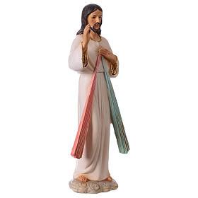 Jesús Misericordioso 30 cm estatua de resina s4