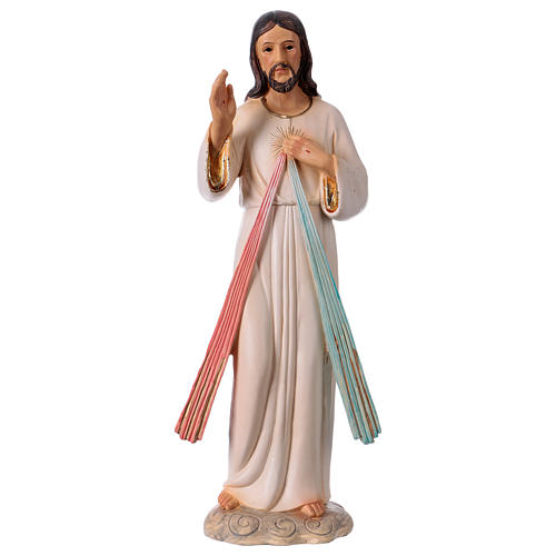 Jesús Misericordioso 30 cm estatua de resina 1