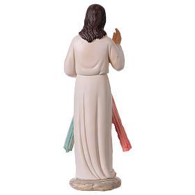 Gesù Misericordioso 30 cm statua in resina s5