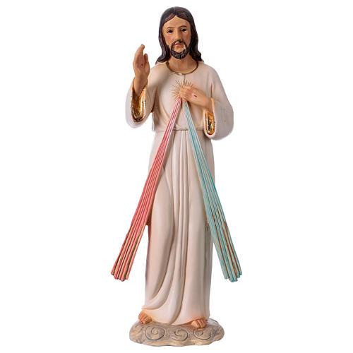Gesù Misericordioso 30 cm statua in resina 1