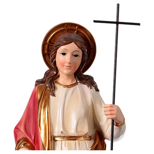 Sainte Marthe statue 30 cm résine 2
