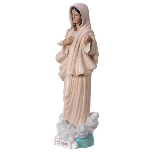 Madonna Medjugorje 40 cm statua in resina 3