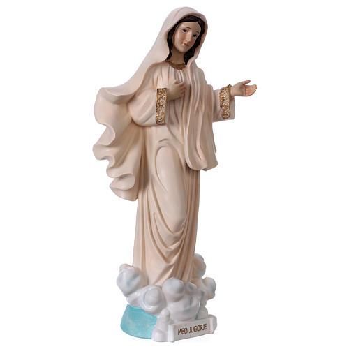 Madonna Medjugorje 40 cm statua in resina 4