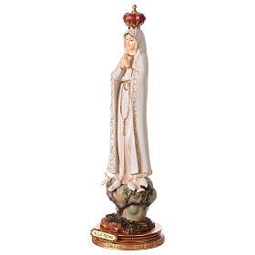 Notre-Dame de Fatima 43 cm statue en résine s3