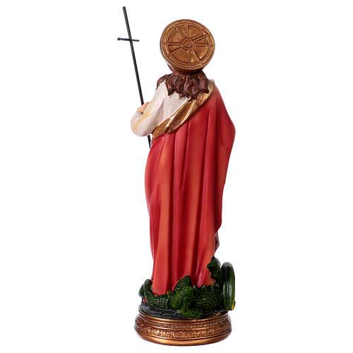Heilige Martha 20cm aus Harz 4